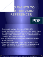 Who Wants to Be a Harvard Referencer
