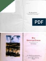 Ernst Jünger - Die Unvergessenen + Personenliste