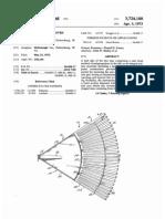 LEAF RAKE WITH IMPROVED MOLDED HEAD (US patent 3724188)