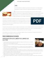 Cocina Sin Gluten _ Fundación Celíaca de Venezuela