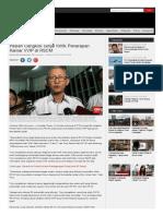 2016 - Pasien Cangkok Ginjal Kritik Penerapan Kamar VVIP Di RSCM