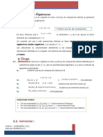 Estructuras Algebraicas ENTREGS