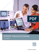 Siemens Industrial Training Course Catalog