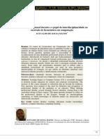 Identidade profissional docente e o papel da interdisciplinaridade no currículo de licenciatura em computação