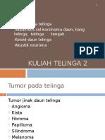 Tumor Pada Telinga (THT)