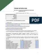 Cuestionario Para Egresados 2012