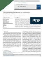 ISA Transactions Volume 53 Issue 3 2014 [Doi 10.1016%2Fj.isatra.2014.01.004] Xiong, Jing-Jing; Zheng, En-Hui -- Position and Attitude Tracking Control for a Quadrotor UAV