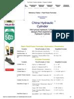 Fluid Power Formulas Hydrualics.pdf