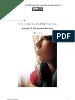 Un Anno. Esperanto. di Ettore Trozzi