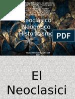 Neoclasicismo, Historicismo y Neogótico