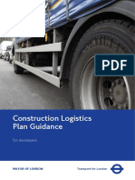 Construction Logistics Plan Guidelines