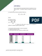 Método aritmético