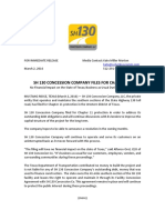 SH 130 Statement