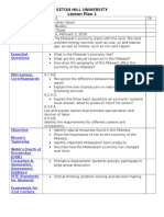 student teaching placement 1 lesson plan 1