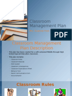 mrs  frosts classroom management plan