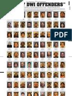 DWI Offenders Jan-Feb. 2010