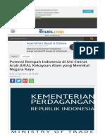 Potensi Rempah Indonesia Di Uni Emirat Arab Uea Kekayaan Alam Yang Memikat Negara Kaya
