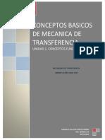 Conceptos Mecanica de Transferencia