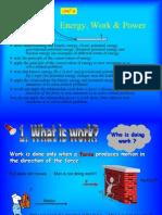 Work Energy Power Slides