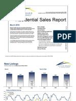 Austin MLS Stats - March 2010