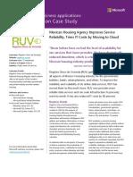 RUV Case Study