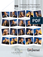 2016 Wisconsin Law Journal Leaders in the Law