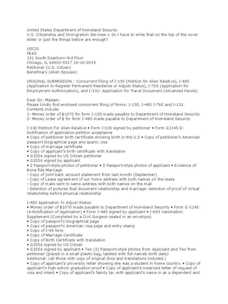 Cover letter permanent residence united states human migration falaconquin