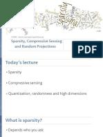 Lecture 18 - Compressive Sensing
