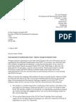 Letter to ministers Feb 08 Douglas Alexander