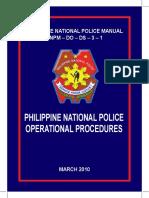 PNP Operational Procedures 2010