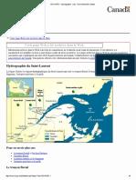 Hydrographie Du Saint-Laurent