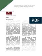 La Gerencia de Mercadeo y La Generación de Nuevos Productos y Servicios REY 02 03 16