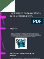 Habilidades Comunicativas Para La Negociacion