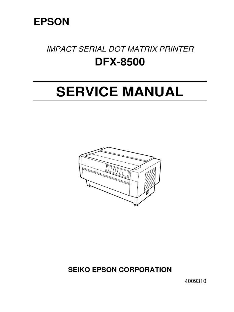 ... Array - dfx 8500 service manual computer engineering electronics rh  scribd ...
