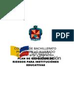 Plan de Gestion de Riesgos Pio 2013-2014