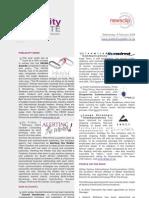 PUBLICITY UPDATE - 06 February 2008