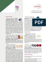 PUBLICITY UPDATE - 12 March 2008
