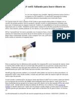 10 razones por qué está fallando para hacer dinero en Forex Trading