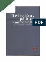 Elio Masferrer-Religion-Politica y Metodologías-2014