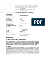 1T1045 Comunicacion Radial I (Garcia)