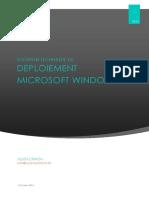 Deploiement Microsoft Windows