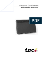 Continuum NetController Reference