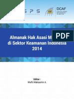 Almanak Hak Asasi Manusia di Sektor Keamanan Indonesia 2014