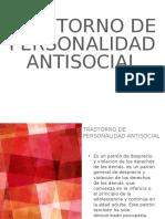 Presentasion de personalidad antisocial y limite
