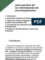 C-6.Elemente Specifice Ale Sistemelor Information Ale Din Domeniul Transporturilor