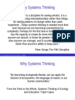 Systems Thinking - Why