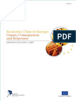 Case 3 European Economic Crisis Impact on International Business