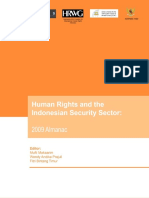 Almanac on Human Rights and Indonesia's Security Sector 2009
