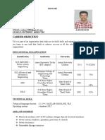 Boopathi Resume