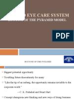 CSR - Aravind Eye Hospital.Bottom of the Pyramid Model